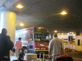 Our Lightning McQueen Disney Express bus