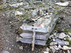Ein wilder Wegweiser auf die Wilde Kreuzspitze :-)