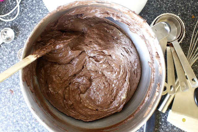 chocolate sheet cake batter