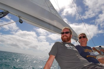 Sailing the Whitsundays - Peter/Veronique