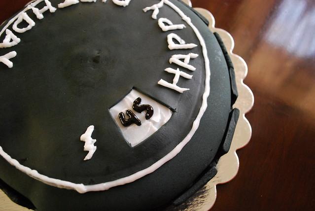 Heroclix Base cake