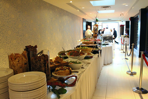 The main buffet
