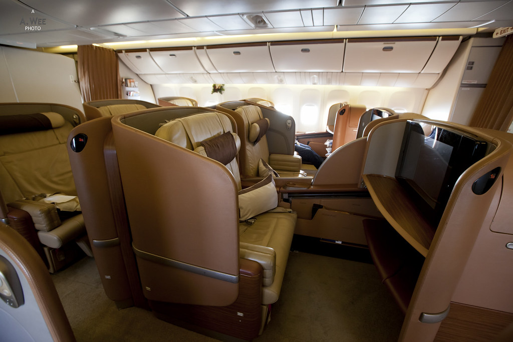 First Class on the 777-300