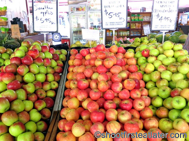 Queen Victoria Market- apples