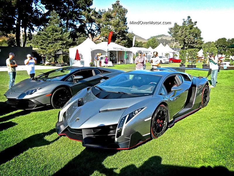 Lamborghini Veneno and Aventador
