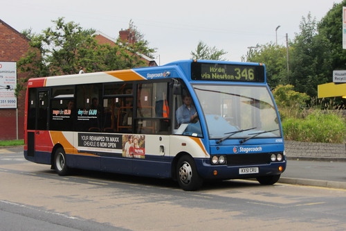 Optare Solo KX51 CRU, Stagecoach in Manchester, Dukinfield