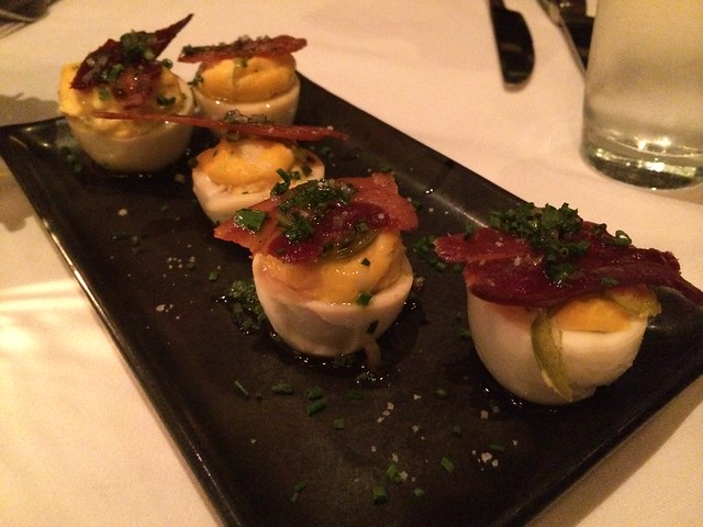 Smoked deviled eggs - Park Tavern