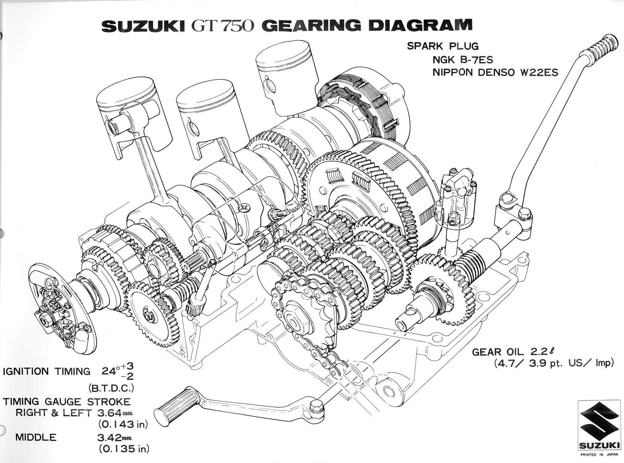 Suzuki Engine Diagram