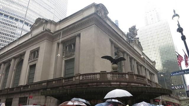 中央車站和老鷹