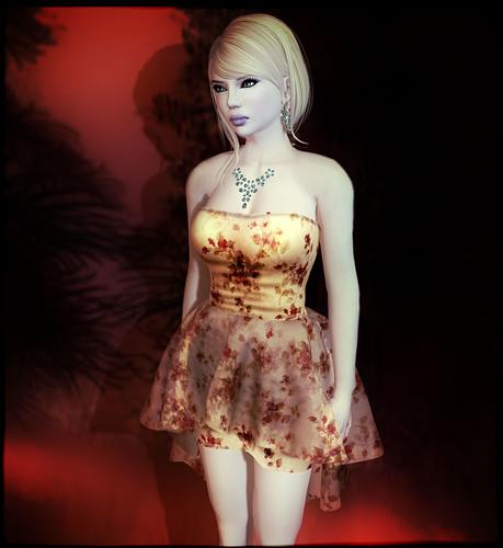 Glitterati by Sapphire - Tiana - Nude Style 1 by Tigist Sapphire