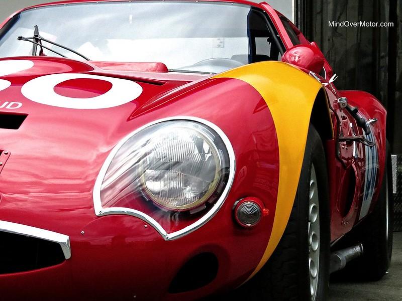 Alfa Romeo TZ2 at the Monterey Motorsports Reunion