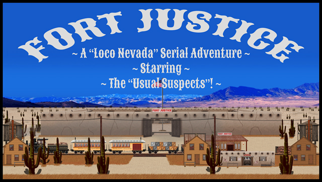 Fort & Town of Fort Justice Banner