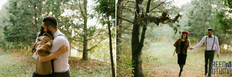 Wedding Creative Inspiration Hamilton Woodland engagement Photography 0027