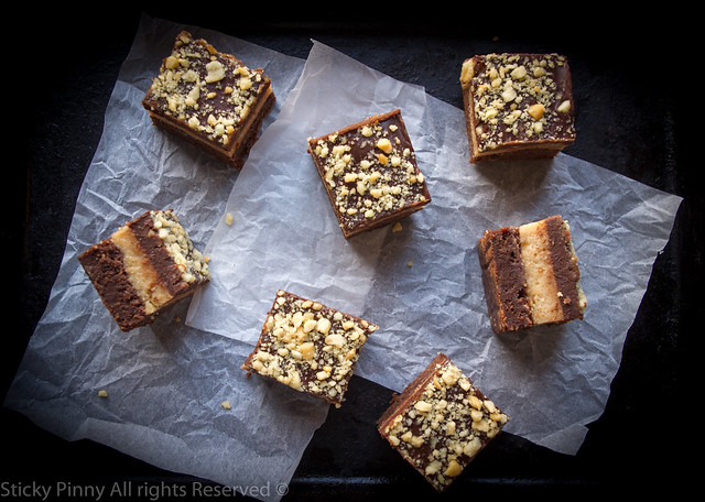 Chocolate Peanut Butter Cheesecake Brownies 3