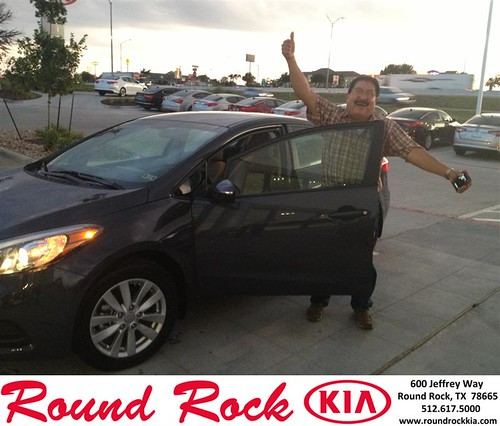 Thank you to Jesse Hernandez on your new 2014 Kia Forte from Derek Martinez and everyone at Round Rock Kia! by RoundRockKia