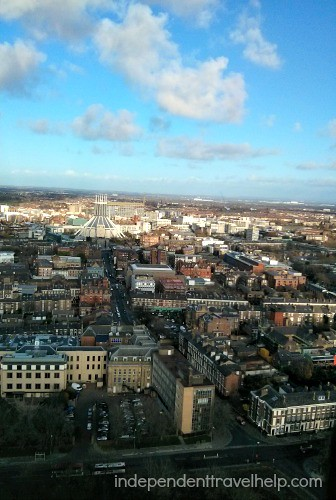 Birdseye view from Liverpool Cathedral