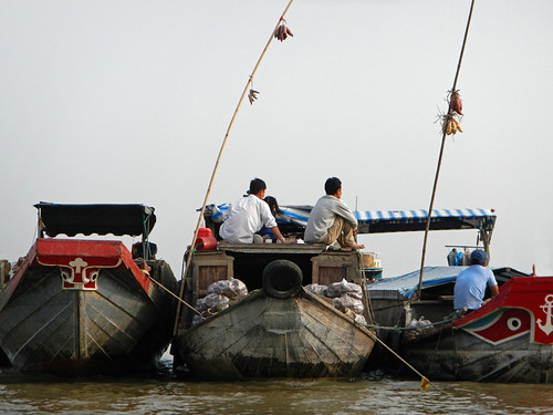 Floating Market Mekong River
