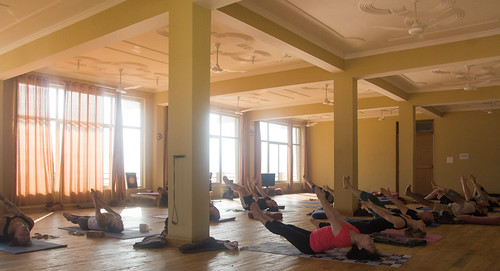 Yoga teacher training in Rishikesh 2014 by AYM Yoga School India