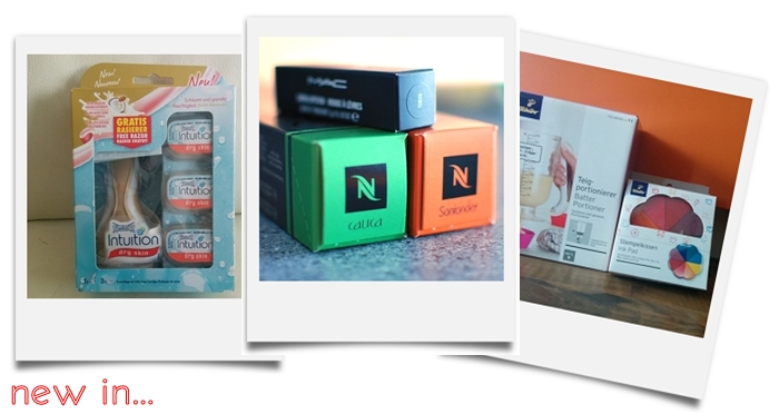 Wilkinson Intuition dry skin | Nespresso Cauca & Santander | MAC lipstick Rebel