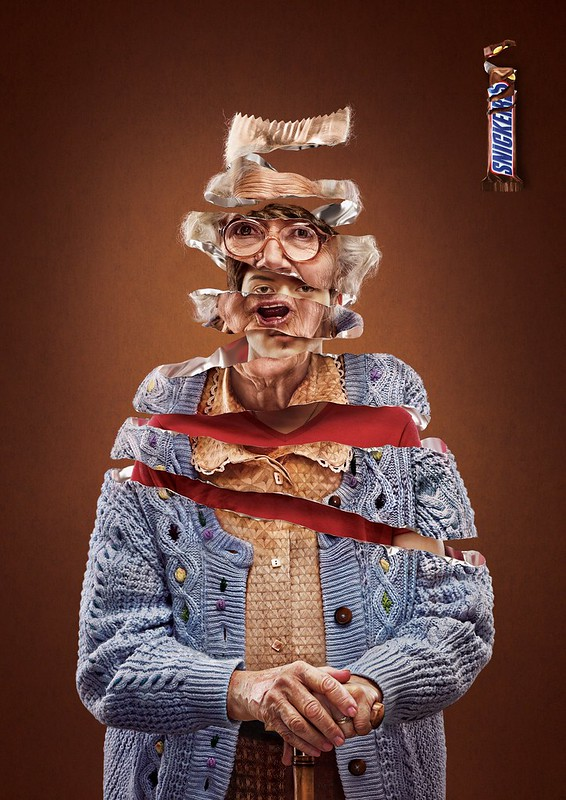 Snickers - Old Woman : GrandSon
