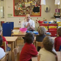 Adam Gray Nursery School Cookery Demo (Great British Chefs)