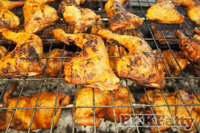 malaysian grilled chicken and rotisserie chicken