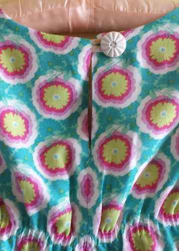 Oliver + S Rollerskate dress size 8 for Clare