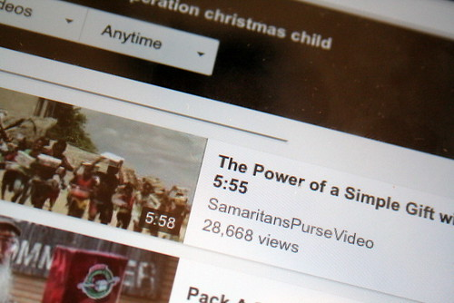 125/365 - Christmas Child 5s