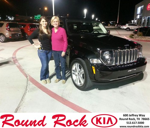 Thank you to Stephanie Tschirhart on your new 2012 #Jeep #Liberty from Rudy Armendariz and everyone at Round Rock Kia! #NewCar by RoundRockKia