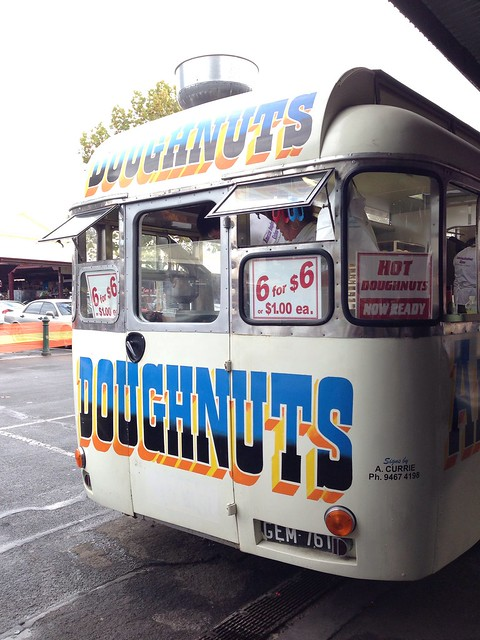 Doughnut Truck at Queen Victoria Market - Melbourne