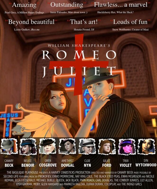 Romeo + Juliet FINAL POSTER