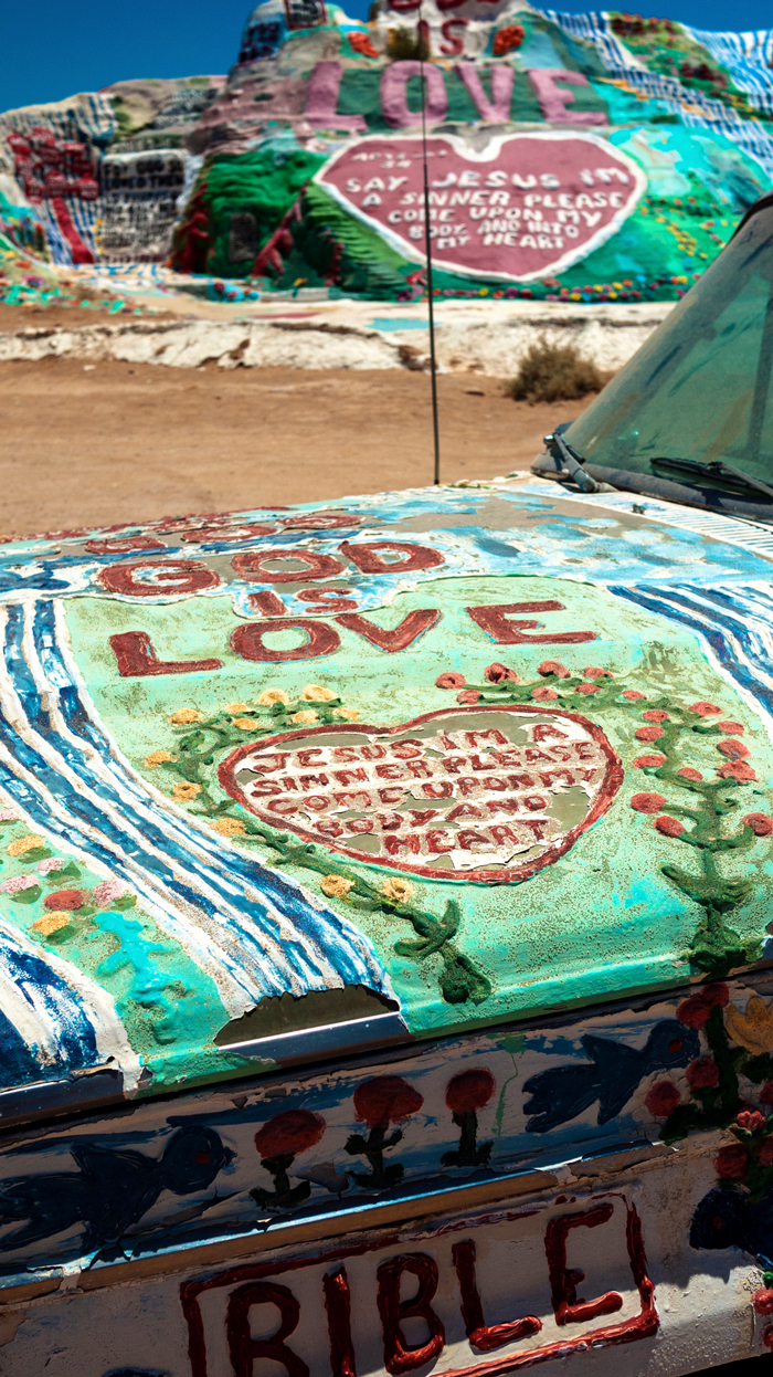 Leonard Knight's Salvation Mountain - Niland, California