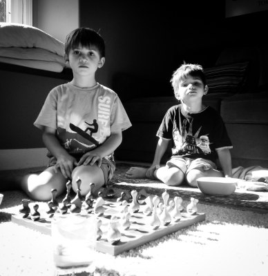 Chess with the Boys