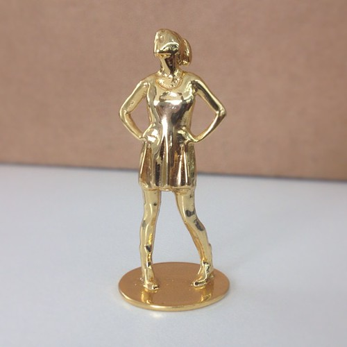 Impresora 3D y oro