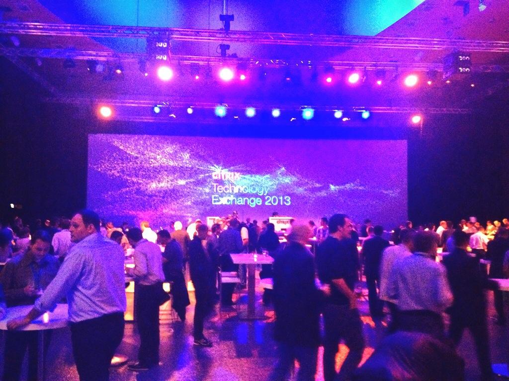 Citrix Technology Exchange 2013 evening event