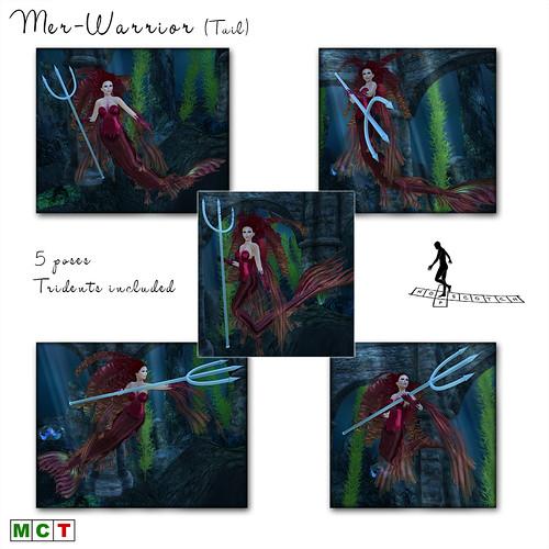 Mer-Warrior Tail