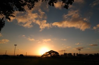 Sunset from Kapaolono Park