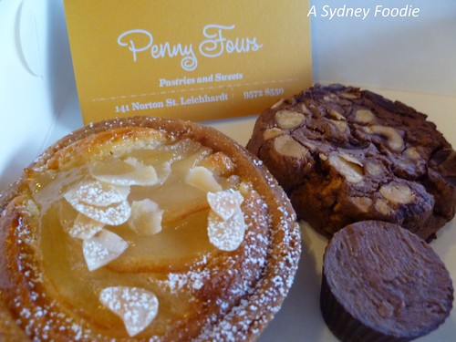 penny fours sweets