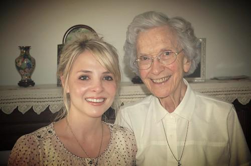 Elsje with Helen Cox