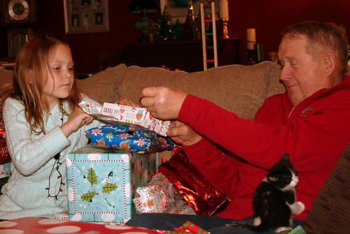 83/365 - Alyssa and Dad Sharing