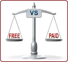 Differences between free and paid blog sites