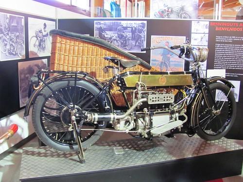 Pyrenees, Motorcycle Museum Oliana Spain, FN Inline 4