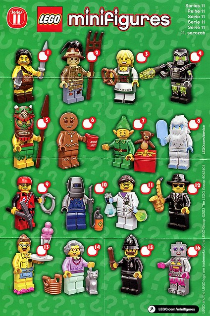 71002 LEGO Minifigures Series 11 ins1