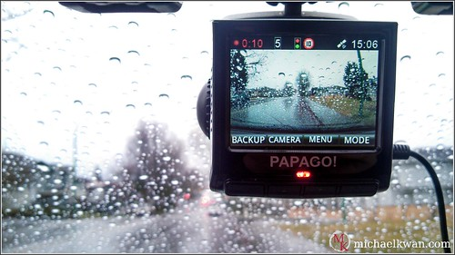 Papago! P3 Dashcam