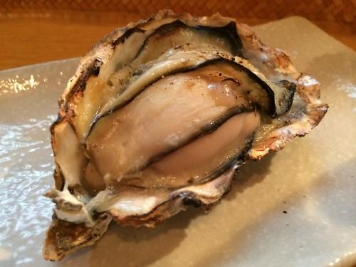 牡蠣の白ワイン蒸し@牡蠣バル 大山