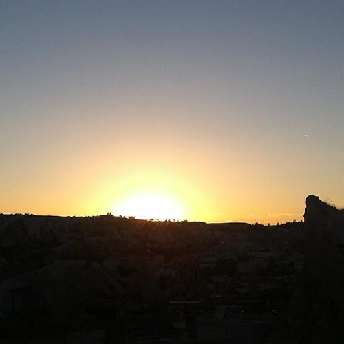 Goreme sunset