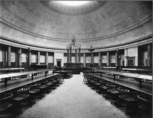 Great Hall, Manchester Central Library, 1934