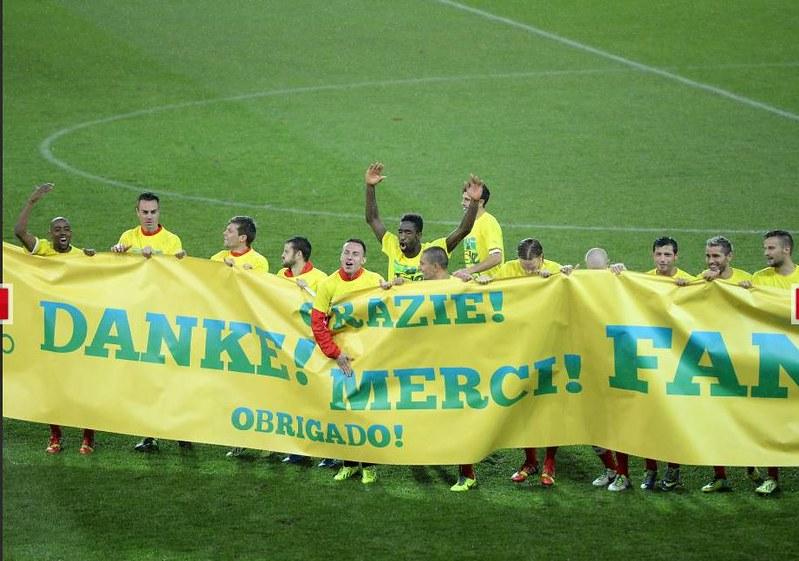 Schweiz Brasil football