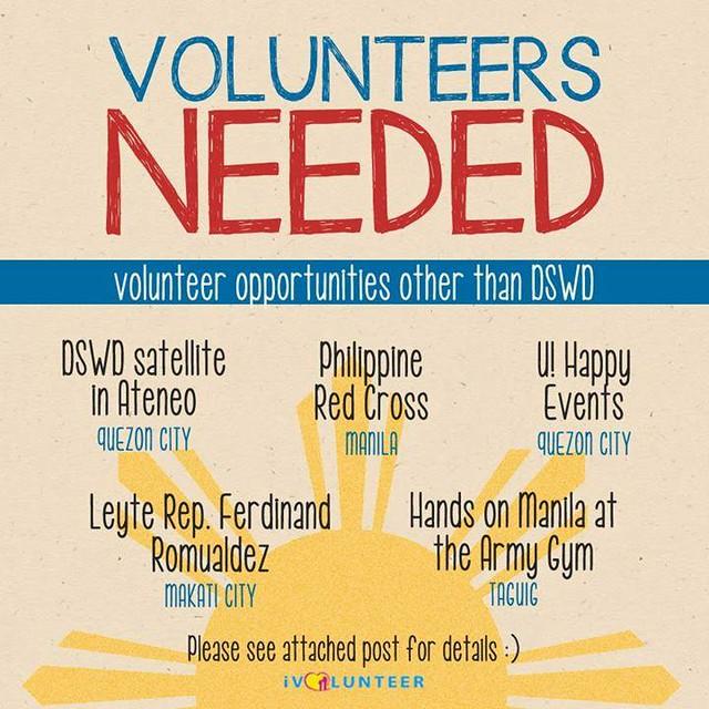 Volunteer Needed