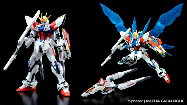 HG Star Build Strike Gundam Plavsky Wing